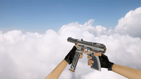 TEC-9 Force Orange