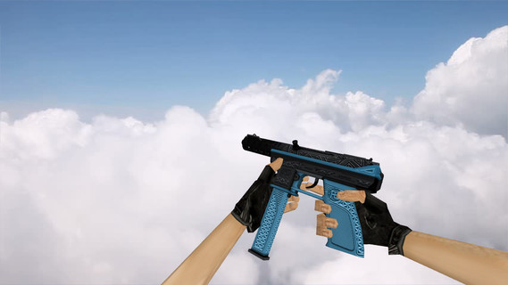 TEC-9 Tread Blue