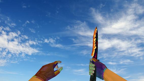 The Error Rainbow Knife