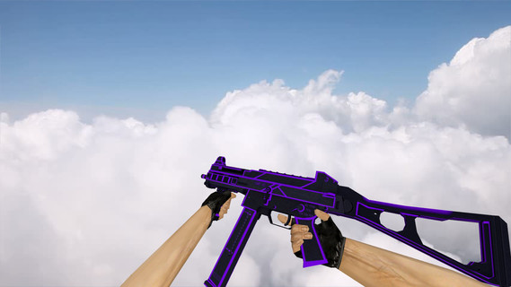 UMP-45 Bee Sting Purple