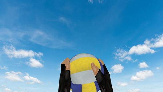 Граната «Волебольный мяч»