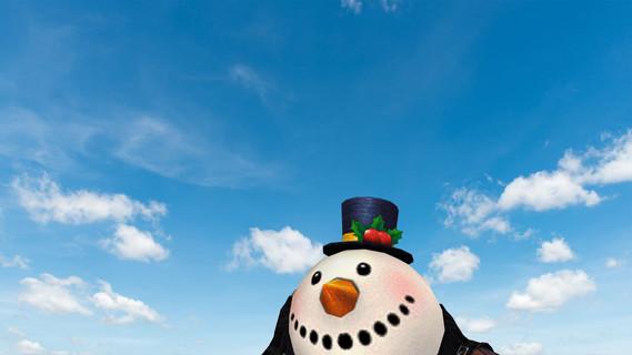 Weird Snowman Grenade